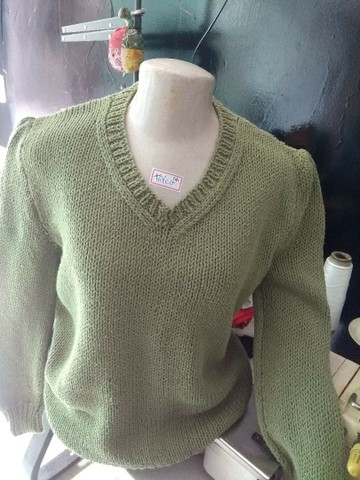 25 blusas de lã Italianas por R$80 - Foto 3