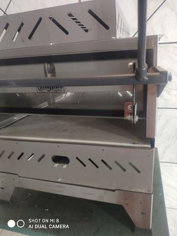 Forno Pizza Grill Industrial Gás Infrave Refrataria Em Inox - Foto 2