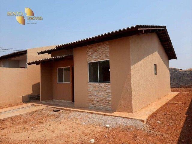 Casa com 2 dormitórios à venda, 64 m² por R$ 172.000 - Jardim Glória l - Várzea Grande/MT - Foto 8