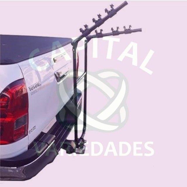 """((Produtos Novos)) Transbike/ Porta bike para bola de reboque. Modelo """"U"""" c/ pulseira. - Foto 5"""