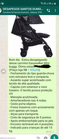 Carrinho de bebê easywalker mini buggy - Foto 2