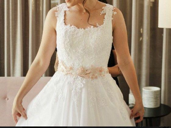 Vestido de noiva com capa (veu) estilo grego Artha Ateliê  - Foto 2