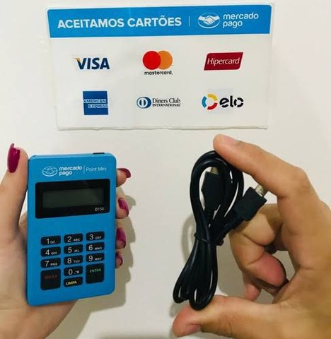 Máquina de cartão  poit  simples e facil de passar o cartão