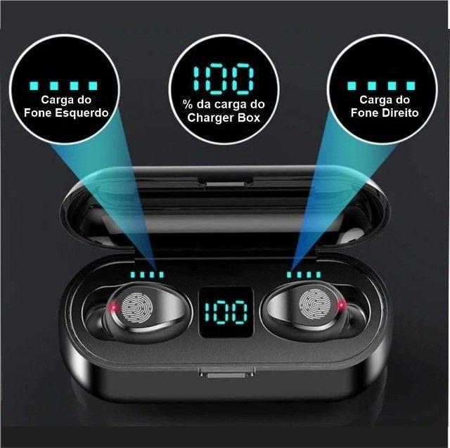 Fones Bluetooth F9 Touch Mini - Foto 2