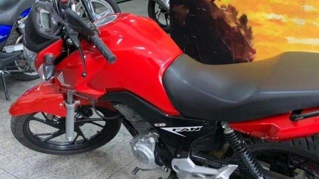 Honda Cg fan flex 160 2020 impecável - Foto 7