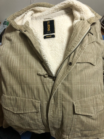 Jaqueta de lã Billabong tamanho M
