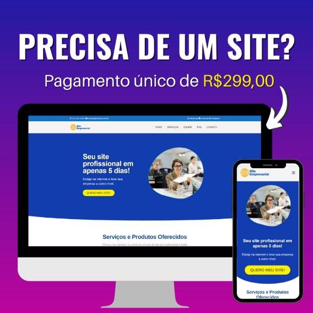 Você precisa de um site?
