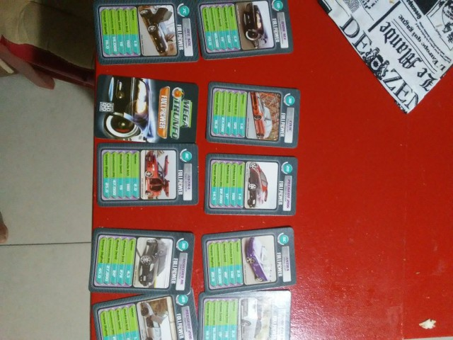 Cartas de yu gi oh - trunfo carros _ trufo dinossauro - Foto 3