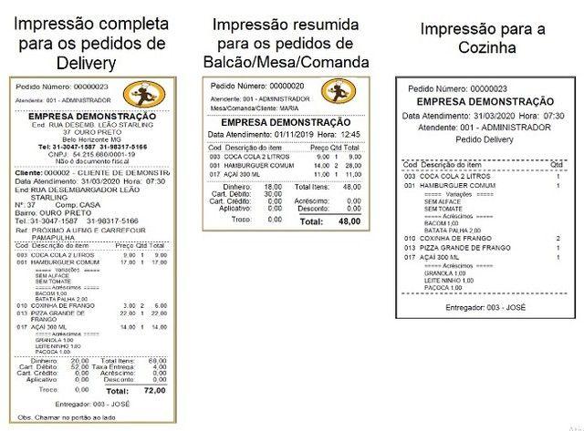 Sem Mensalidades - Sistema de Gestão para Deliverys, Lanchonetes, Açaí, Pizzarias - Foto 5