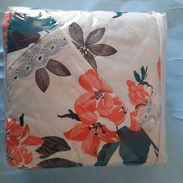 Vendo colchas de cama 2 em 1 - Foto 5
