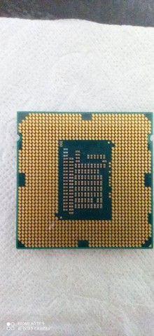 I3-3250, LGA 1155. + Memória ram DDR3 4GB 1333 ghz. - Foto 2