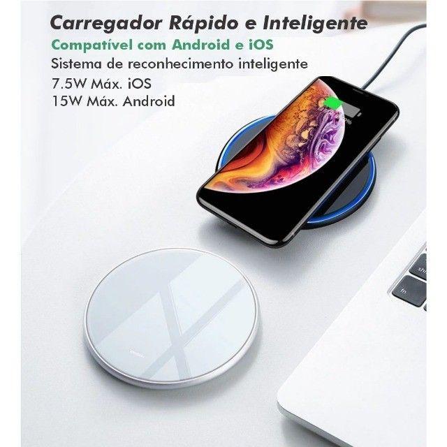 Carragador Sem Fio Wireless por Indução Qi Charger - Foto 5