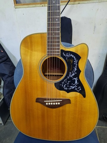 Violão Yamaha FGX-720sca - Foto 2