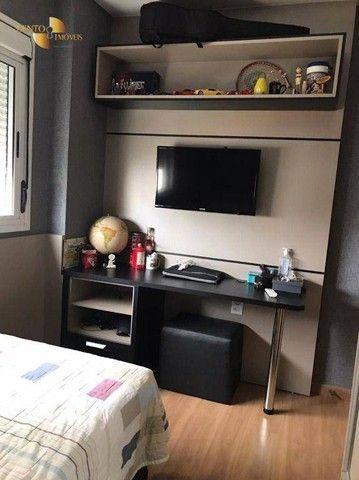 Apartamento com 3 dormitórios à venda, 106 m² por R$ 750.000,00 - Areão - Cuiabá/MT - Foto 9