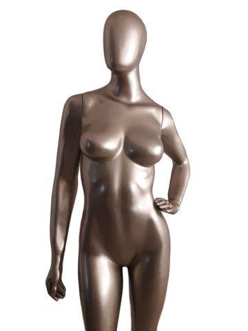 Manequim Feminino De Fibra Diversas Poses + Base De Brinde