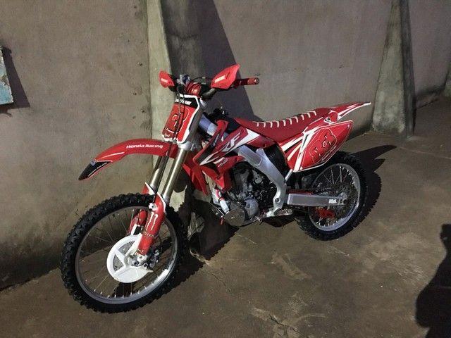 Crf 250R 2009 moto de trilha  - Foto 3