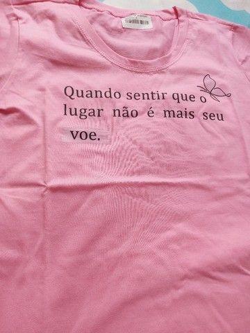 T-shirt nova - Foto 5