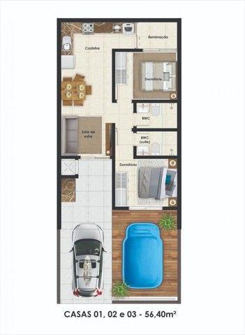Casa para Venda em Guaratuba, Brejatuba, 2 dormitórios, 1 suíte, 2 banheiros, 1 vaga - Foto 6