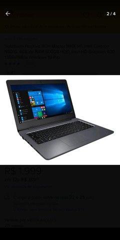 Notebook 4gb ram 500hd - Foto 3
