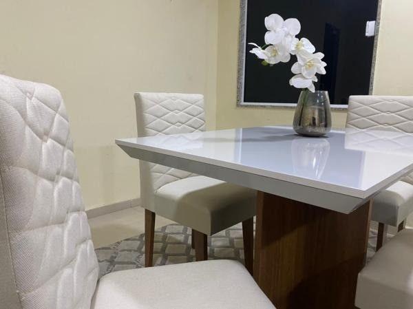 Mesa de Jantar Mari 4 Cadeiras- Entrega Rápida - Foto 3