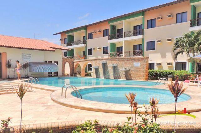 Apartamento em Porto das Dunas, 1 Quarto, Mobiliado