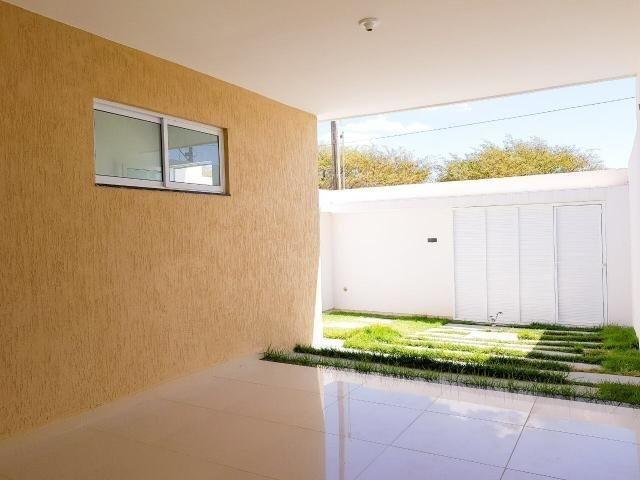 Casas planas no eusébio, 3 quartos 2 vagas shopping - Foto 8