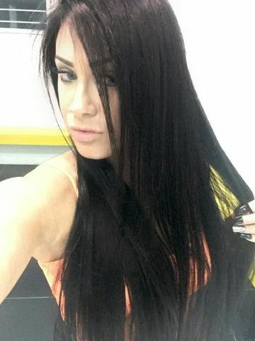 Faixas de mega hair muito linda!