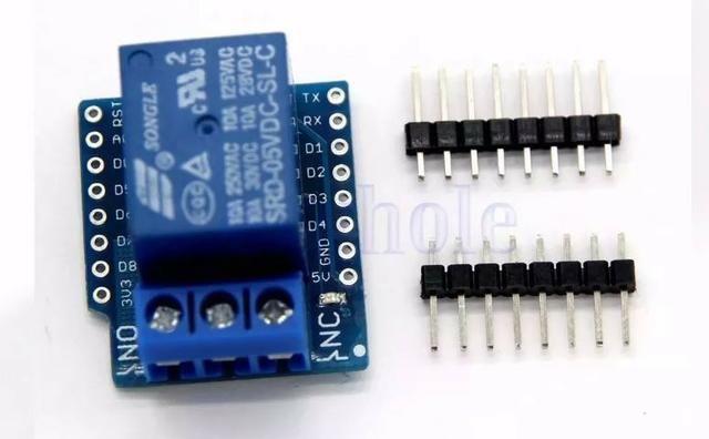 COD-AM126 Rele Shield P/ Wemos D1 Mini - Esp8266 Wifi Arduino Automação Robotica - Foto 3