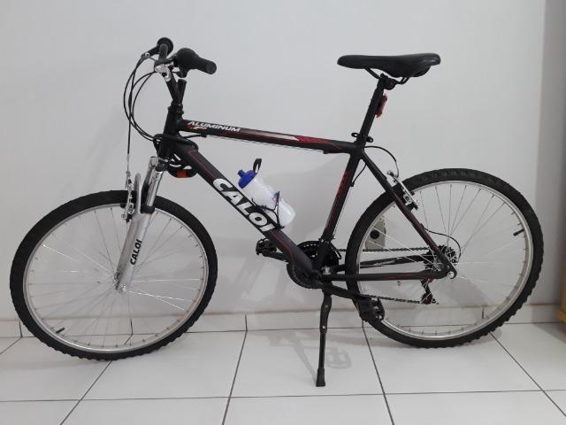 a9ce3cb5d Bicicleta Caloi Aluminum 21 Marchas Aro 26 Completa Zero! - Ciclismo ...