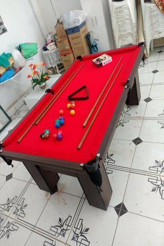 Mesa com Redinhas Cor Dakar Tecido Vermelha Mod. VYOU9985 - Foto 3