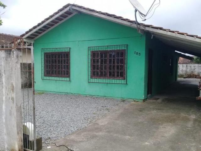Casa para venda em joinville, guarani, 3 dormitórios, 1 banheiro, 2 vagas