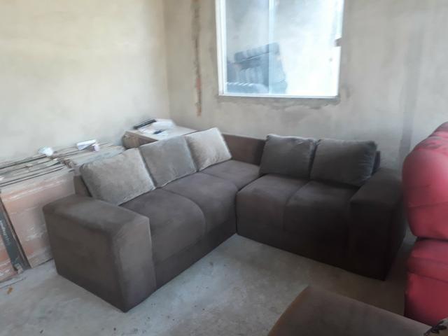 Sofa de canto usado seminovo em serrinha zap * - Foto 3