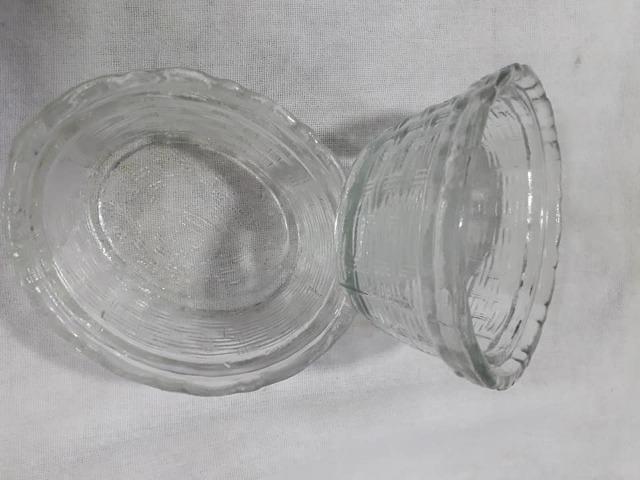 Mantegueira antiga em vidro - Foto 6
