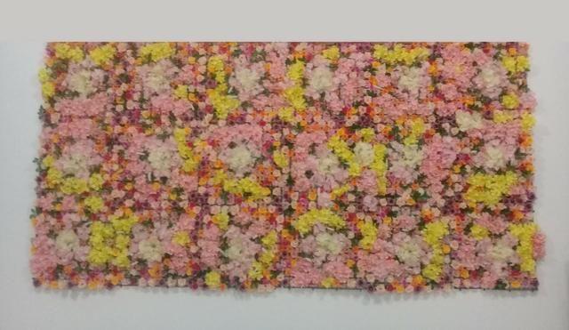 Painel de Flores Artificial 3,00 x 1,50 metros