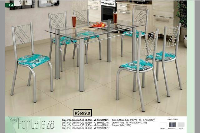Promoção das Fabricas - Mesas e Banquetas em aço Inox - Foto 2