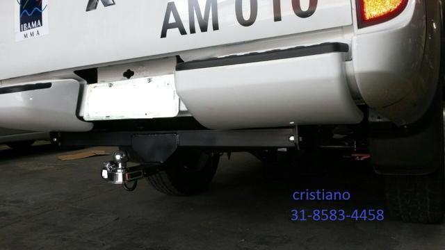 Engate-reboque caminhontes fixo e removivél - Foto 7