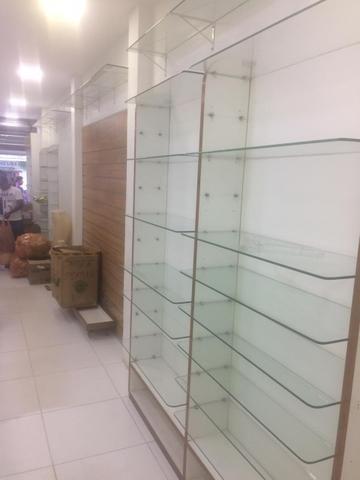 Módulos expositores de parede ,Prateleiras em vidro para lojas - Foto 2