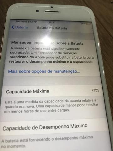 Vendo iPhone 6s novinho - Foto 3