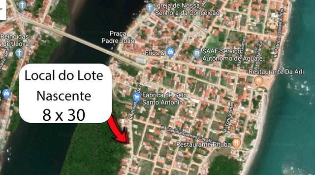 Litoral Norte - Barra de Santo Antônio - Ilha da Croa - Em Rua Pavimentada - Foto 14