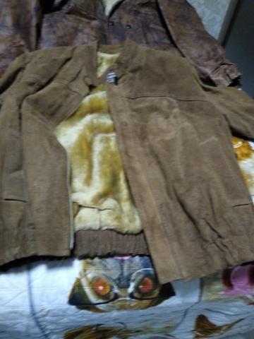 Vendo casaco couro grosso - Foto 5