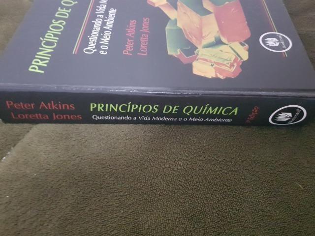 Livro Princípios de quimica peter atkinks loretta jones 3a edição - Foto 3