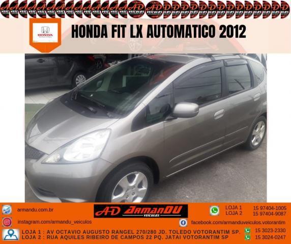 HONDA FIT 2011/2012 1.4 LX 16V FLEX 4P AUTOMÁTICO - Foto 3