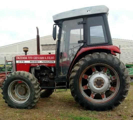 Trator agrícola Massey ferguson 275 (cabinado) - Foto 4