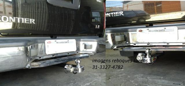 Engate-reboque caminhontes fixo e removivél - Foto 9