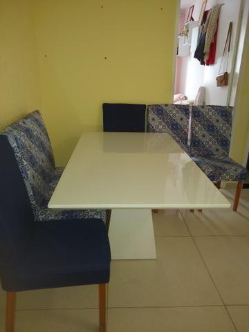 Vendo linda mesa de 6 cadeira - Foto 5