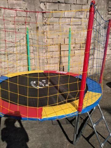 Combo, Locação de brinquedos 2 em 1, cama elástica com piscina de bolas - Foto 5
