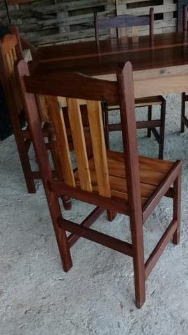 Mesa com 6 cadeiras - Foto 5