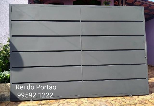 Portão Garagem Pronta Entrega - Direto fabrica toda bh e região
