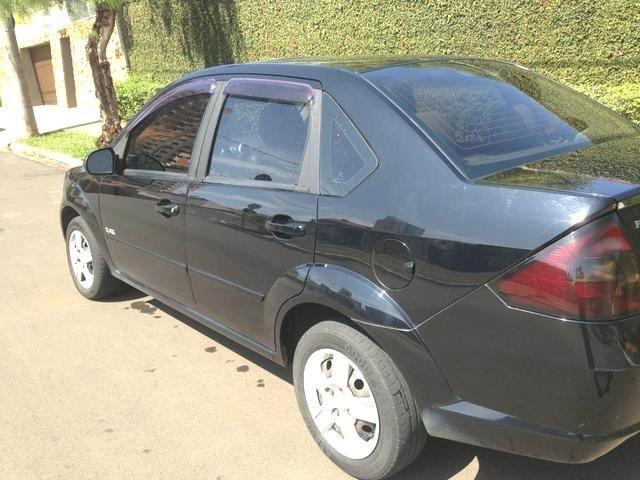 Fiesta Sedan Class 1.6 Flex. Completo + Couro + Teto. 2.500 Abaixo da Tabela Fipe - Foto 6