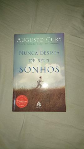 Livro Augusto Cury - Nunca desista dos seus sonhos